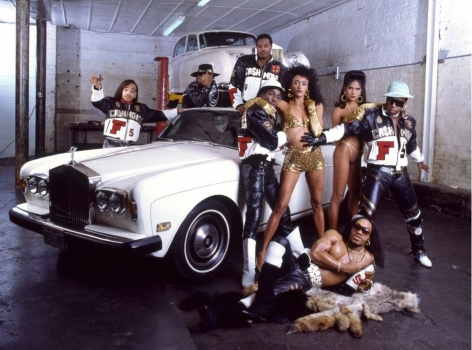Grand Master Flash & The Furious Five, NYC, (with models), 1988, 16 x 20 inches - Archival Pigment Print - Edition of 50