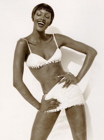 Naomi - Bikini 2, Los Angeles 1992, 14 x 11 Inches, Silver Gelatin Photograph, Edition of 3