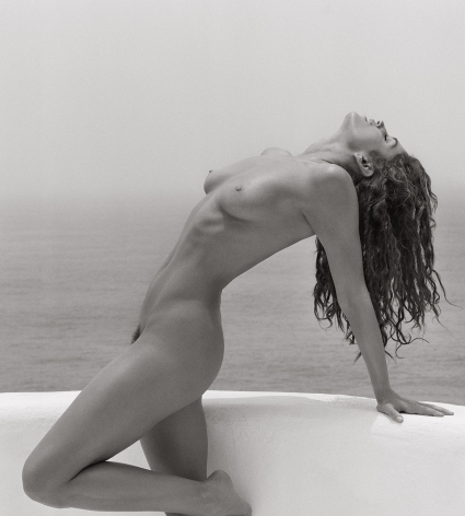 Cindy Crawford 1, Costa Careyes, 1998, 14 x 11 Inches, Silver Gelatin Photograph, Edition of 8