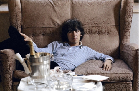 George Harrison, George V hotel, Paris, May 1965, C-Print