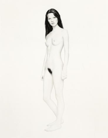 Kate, Paris,1992, Pigment Print, Combined Ed. of 17