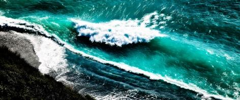 CRASHING WAVES, Archival Pigment Print