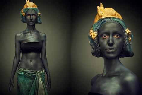Hittorff, La Fontaine des Mers (Paradrae of Neptune), 2016, Diptych, Archival Pigment Print