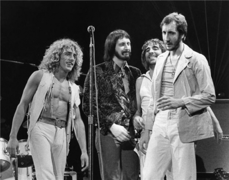 The Who, New York, NY, 1976, Silver Gelatin Photograph