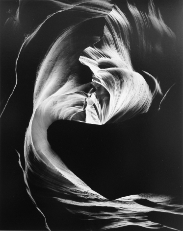 Circular Chimney, Antelope Canyon, 1980, 28 x 22 Inches, Silver Gelatin Photograph