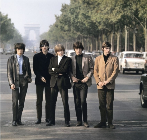The Rolling Stones, Champs-Elysees, Paris, May 1965, C-Print