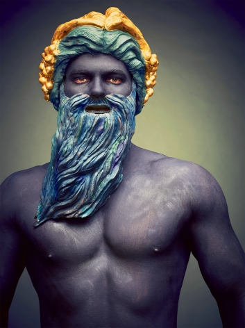 Hittorff, La Fontaine de Mers (Neptune), 2016, Archival Pigment Print
