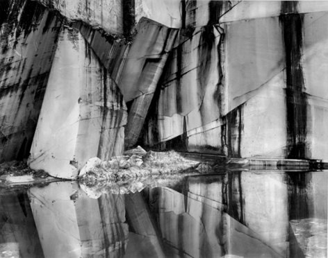Arni Marble Quarry, 2001, 22 x 28 Inches, Silver Gelatin Photograph