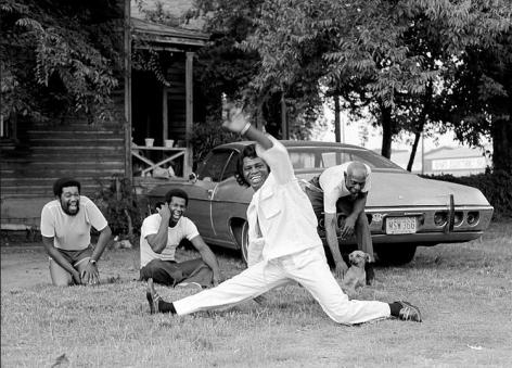 James Brown Doing The Split, Augusta, GA,1979, 17 x 22 Archival Pigment Print, Edition 35