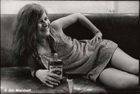 Janis Joplin (Laughing Backstage at Winterland), San Francisco, 1968, 11 x 14 Silver Gelatin Photograph