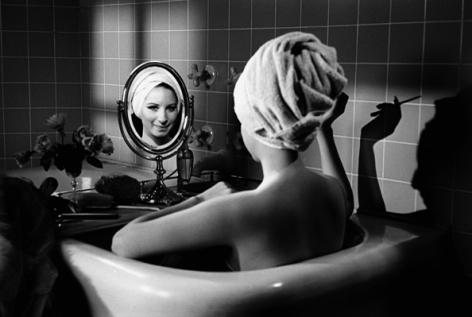 Barbra Streisand (Bathtub), Los Angeles, 1969, Silver Gelatin Photograph