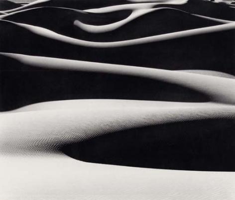 Bruce Barnbaum Dune Ridges at Sunrise, 1976
