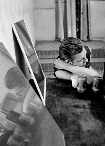 Paul Simonon, The Clash, Milan, 1980