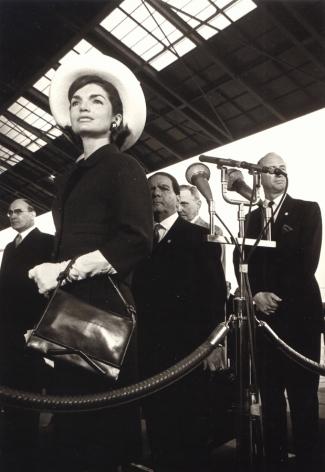 Jacqueline Kennedy, Washington D.C., 1963, Silver Gelatin Photograph