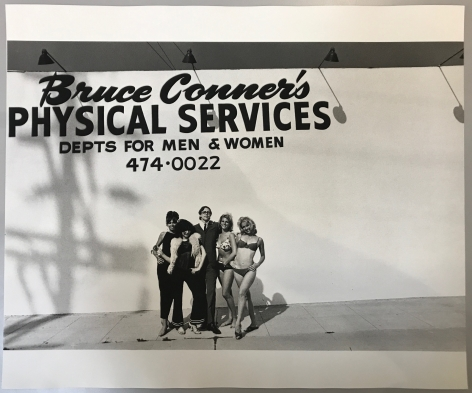 Bruce Conner Physical Services (Later Print made in Artist's lifetime), 1964