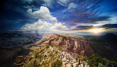 Grand Canyon National Park, Arizona, 2015, 60 x 105 inches, Ed. of 4