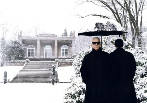 Karl Lagerfeld, Hamburg, May 1995, C-Print