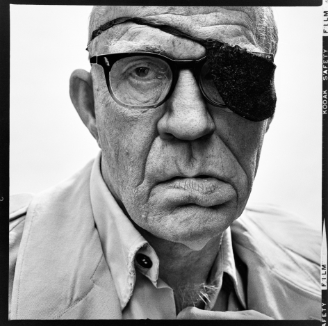 Richard Avedon / John Ford, Director, Bel Air, California (April 11, 1972), 2017, 16 x 16 Archival Pigment Print, Ed. of 35