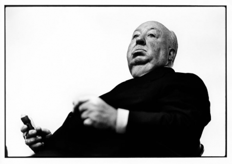 Alfred Hitchcock, Los Angeles, 1970, 11 x 17 Archival Pigment Print