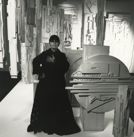 Louise Nevelson, 1972, Silver Gelatin Photograph