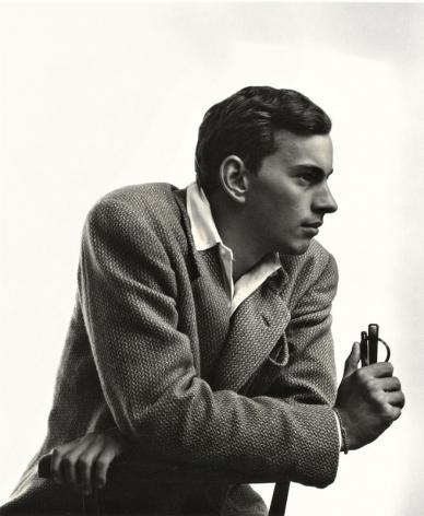 Gore Vidal, Junior Bazaar, 1946, Vintage Silver Gelatin Photograph