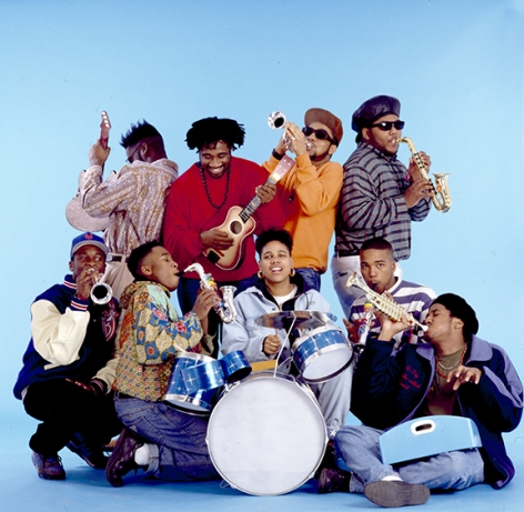 Native Tongues Posse (blue), NYC, 1989, 20 x 16inches - Archival Pigment Print - Edition of 50
