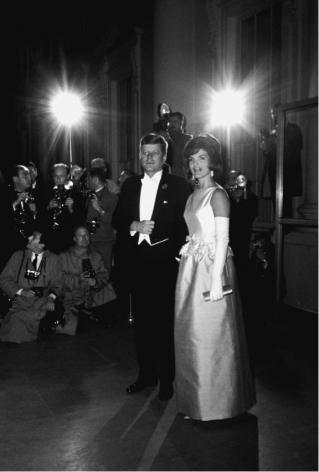 Jack and Jackie Kennedy, Washington DC, 1963, Silver Gelatin Photograph