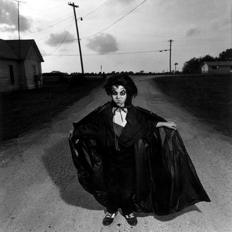 Halloween Boy, Texas,1983, Silver Gelatin Photograph