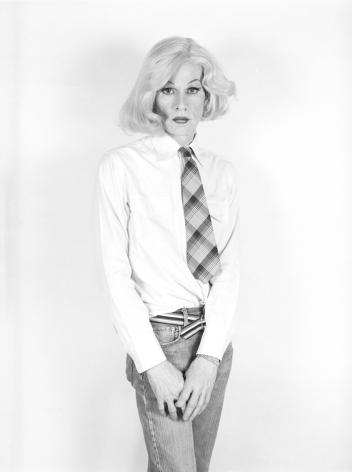 Christopher Makos Lady Warhol, Altered Images, 1981