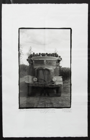 Viva La Differance, Danya Subuk, 1968/1998, 40 x 26 Inches, Platinum Palladium Photograph