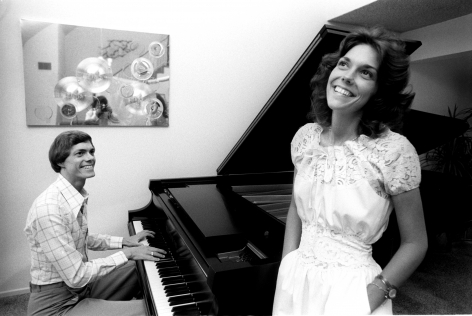 The Carpenters, Los Angeles, 1973, Silver Gelatin Photograph