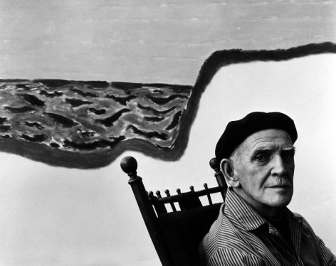 Milton Avery, 1960, Gelatin Silver Photograph; Printed Later
