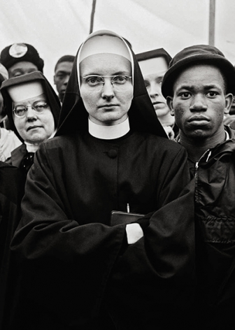 Nuns at the March, Selma, 1965, 20 x 16Inches, Silver Gelatin Photograph, Edition of 25