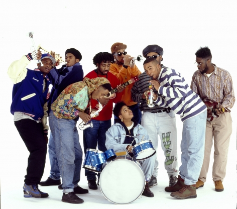 Native tongues posse NYC 1989, 20 x 16inches - Archival Pigment Print - Edition of 50
