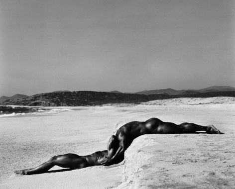 Duo I, Mexico, 1990, 16 x 20 Inches, Platinum Photograph, Edition of 25