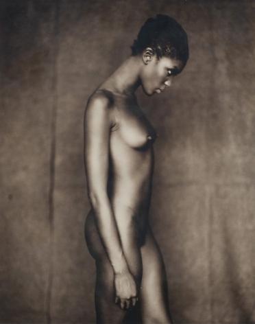 Naomi, Paris,July 17, 1996, Original Polaroid