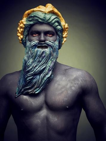 Hittorff, La Fontaine des Mers (Neptune), 2016, Archival Pigment Print