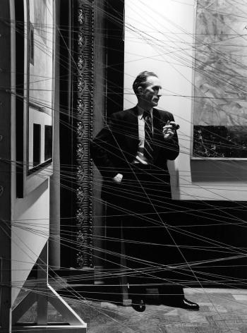 Marcel Duchamp, NYC, 1942, Silver Gelatin Photograph