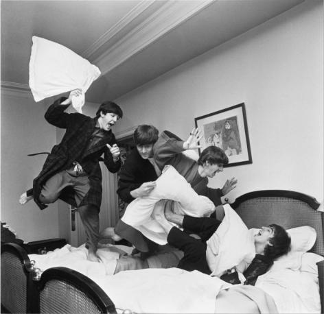 Beatles Pillow Fight, Paris, 1964