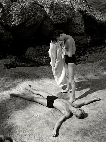 Herbert List After the Bath, Portofino, Italy, 1936