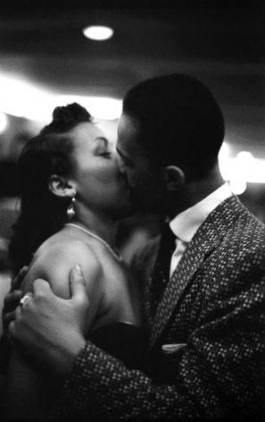 A Late Night Kiss, Harlem, 1951, Silver Gelatin Photograph