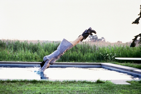 Stella Tennant, Watermill, NY, Vogue, 1995