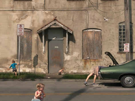 Loading Zone, 2009, 22 x 29 Inches, Archival Pigment Print, Edition of 25