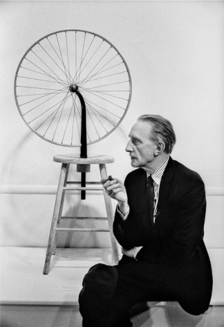 Marcel Duchamp 'Bicyclette', Time Magazine October, 1963, Silver Gelatin Photograph
