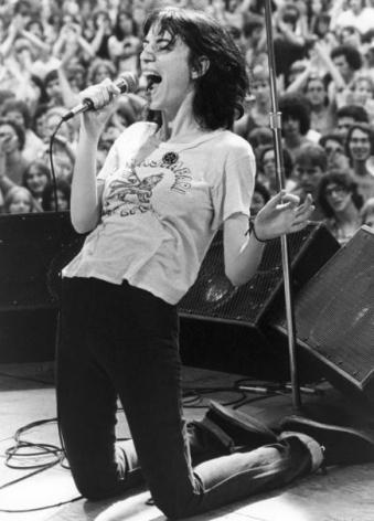 Patti Smith, New York, NY, 1976, Silver Gelatin Photograph
