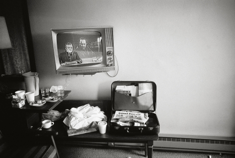 Martin Luther King Jr,'s Motel Room Hours After He Was Shot, Memphis, Tennessee, 1968, 16 x 20 Inches, Silver Gelatin Photograph, Edition of 25