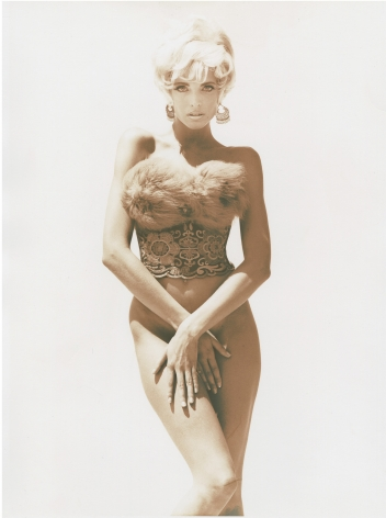 Stephanie - Pin-Up 1, Los Angeles, 1990, 14 x 11 Inches, Silver Gelatin Photograph, Edition of 8