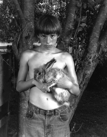 Paul with Rabbit, 2005