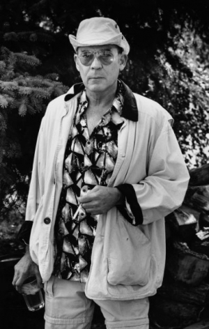 Hunter S. Thompson, Aspen, CO, 1994, 10 x 8 Silver Gelatin Photograph