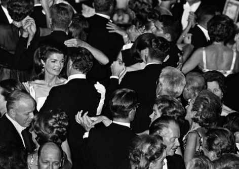 Jackie Kennedy Dancing at a Gala, Boston, 1967, Silver Gelatin Photograph